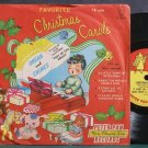 "JESSE CRAWFORD~Christmas Carols~Peter Pan 12 Rare VG+ 7"" 78 RPM Vinyl"