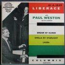 LIBERACE~Liberace at the Piano (PS)~Columbia 1849  45 EP