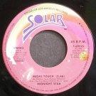 MIDNIGHT STAR~Midas Touch~Solar 69525 (Disco) VG+ 45
