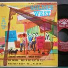 SONS OF THE PURPLE SAGE~Songs of the Golden West~Waldorf Music-Hall 45-171 Rare 45 EP