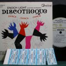 "ENOCH LIGHT~Discotheque: Dance Dance Dance~Command 6001-SD VG++ 7"" 33 RPM Mini LP, EP"