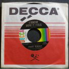 JIMMY WAKELY~I Know How it Feels~Decca 32324 M- 45