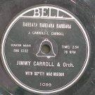 "SCOTTY MACGREGOR~Barbara Barbara Barbara~Bell 1099 (Big Band Swing) Rare HEAR 7"" 78 RPM Vinyl"