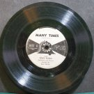 "TONY RUSSO & PAUL NEILSON~Many Times~Bell 1013 (Big Band Swing)  7"" 78 RPM Vinyl"