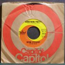 WYNN STEWART & THE TOURISTS~Something Pretty~Capitol 2137  45