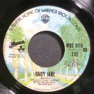AMERICA~Daisy Jane~Warner Bros. 8118 (Soft Rock) VG+ 45