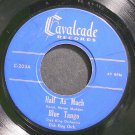 DICK KING~Half as Much~Cavalcade 203 (Big Band Swing) Rare 45 EP