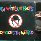MEN WITHOUT HATS~Pop Goes the World~Mercury 859-7 (Synth-Pop) VG++ 45