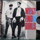 PET SHOP BOYS~West End Girls~EMI America 8307 (Synth-Pop) VG++ 45