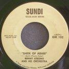 BENNY STRONG~Sheik of Arabi~Sundi 102 VG+ 45