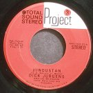 DICK JURGENS~Hindustan~Project 3 PR45-1424 SD (Big Band Swing) VG+ 45