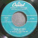 HARRY JAMES & HIS ORCHESTRA~Harry's Choice, Part I~Capitol 1093 (Trumpet & Coronet) Rare 45 EP