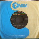 JULIUS LA ROSA~I Can't Believe I'm Losing You~MGM 13543 (Christmas)  45