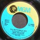MIKE DOUGLAS~Ole Buttermilk Sky~MGM 14453 Rare VG+ 45