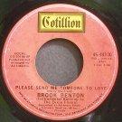 BROOK BENTON~Please Send Me Someone to Love~Cotillion 44130 (Soul)  45