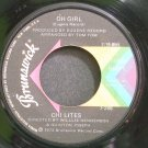 THE CHI-LITES~Oh Girl~Brunswick 55471 (Soul)  45