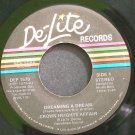 CROWN HEIGHTS AFFAIR~Dreaming a Dream~De-Lite 1570 (Disco)  45