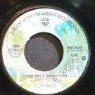 ROD STEWART~I Was Only Joking (Edit)~Warner Bros. 8568 (Soft Rock)  45