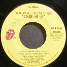 THE ROLLING STONES~Start Me Up~Rolling Stones 21003 (Rock & Roll) VG++ 45