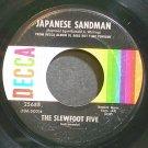 SLEWFOOT FIVE~Japanese Sandman~Decca 25688 (Saxophone) VG+ 45