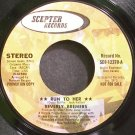 BEVERLY BREMERS~Run to Her~Scepter 12378 (Soul) Promo 45