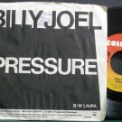 BILLY JOEL~Pressure~Columbia 03244 (Soft Rock) VG+ 45