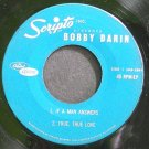 BOBBY DARIN~Scripto Inc, Presents~Capitol Custom 45 RPM-EP  45 EP