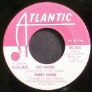 BOBBY DARIN~She Knows~Atlantic 2433 Promo VG+ 45