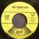 COWBOY COPAS~New Filipino Baby~Starday 559 Rare VG+ 45