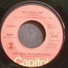 ERIC BURDON BAND~The Real Me~Capitol 4007 (Blues) Rare VG+ 45