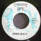 FORCE M.D.'S~Tears~Tommy Boy Music 848-7 (Downtempo) VG+ 45