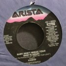 KASHIF~Baby Don't Break Your Baby's Heart~Arista 1-9200 (Synth-Pop) VG++ 45