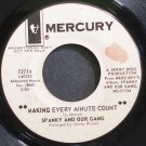 SPANKY & OUR GANG~Making Every Minute Count~Mercury 72714 Promo 45