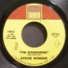 STEVIE WONDER~I'm Wondering~Tamla 54157 (Soul)  45