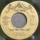 THE WHO~See Me, Feel Me~Decca 732729 (Classic Rock)  45