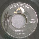 ELVIS PRESLEY~Surrender~RCA Victor 7850 (Rock & Roll)  45