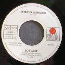 LOS MIER~Retrato Hablado~Ariola 1272 Promo M- Mexico 45