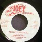 PEDRO DE LARA~Maldito Divorcio~Joey International 784 M- 45