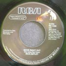 RICK ASTLEY~Move Right Out~RCA 1008 (Synth-Pop) Promo VG++ Mexico 45