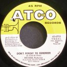BEE GEES~Don't Forget to Remember~ATCO 6702 VG++ 45