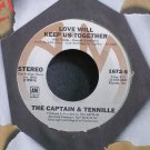 CAPTAIN & TENNILLE~Love Will Keep Us Together~A&M 1672-S (Disco) M- 45