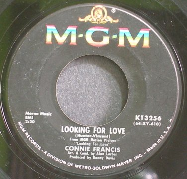 CONNIE FRANCIS~Looking for Love~MGM K13256 (OST)  45