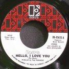 DOORS~Hello, I Love You~Elektra 45635 (Psychedelic Rock) VG- 45