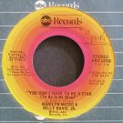 MARILYN MCCOO & BILLY DAVIS JR.~You Don't Have to Be a Star~ABC 12208 (Funk) VG+ 45
