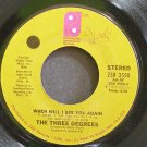 THE THREE DEGREES~When Will I See You Again~Philadelphia Int'l 3550 (Soul) VG+ 45