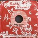 PAULINE KEKAHUNA~Lahela Kuu Pokii~Waikiki 541 (Hawaiian) VG+ 45