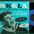 RHYS MORGAN CHORUS~Akela Song Record Album for Cub Scouts~Nanette Guilford 1210 VG++ 45 EP