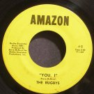 THE RUGBYS~You, I~Amazon #1 (Psychedelic Rock)  45