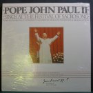POPE JOHN PAUL II~Sings at the Festival of Sacrosong~Infinity 9899 (Gospel) SS Canada LP