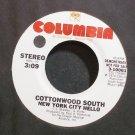 COTTONWOOD SOUTH~New York City Hello~Columbia 10061 (Progressive Rock) Promo Rare M- 45